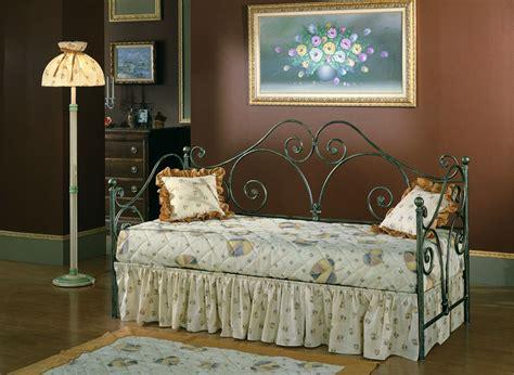 divano letto singolo in ferro battuto divani letto in ferro rosanna