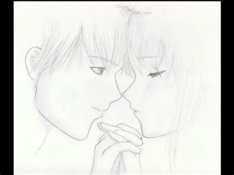 imagenes de parejas romanticas para dibujar dibujando una pareja dibujo anime daikhlo