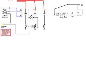 3 phase square d contactor wiring diagram get free image