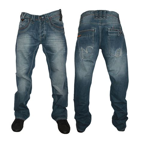 design jeans new mens denim police 883 303278 designer regular fit