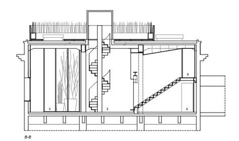 section drawing of staircase spiral staircase section childrens museum insp