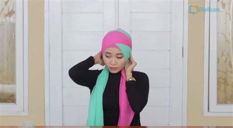 tutorial hijab turban untuk jalan jalan turban hijab tutorial untuk pesta