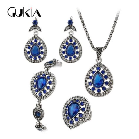 metal sts for jewelry gukin 4 pcs jewelry sets silver plating vintage