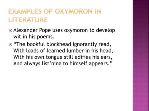 exle of oxymoron in romeo and juliet ppt oxymoron powerpoint presentation id 1951521