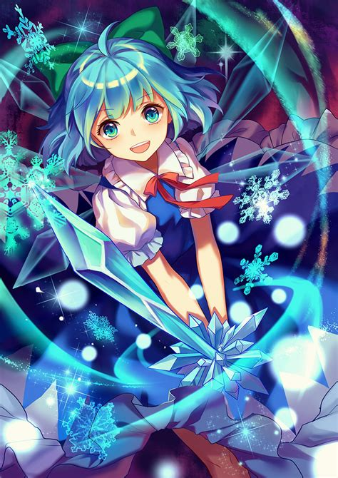 cirno touhou mobile wallpaper 1939697 zerochan anime image board