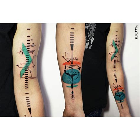 music and sound tattoo on arm best tattoo ideas gallery