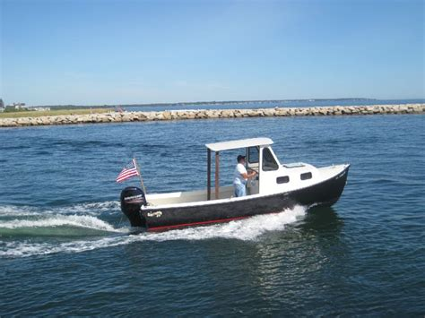 small lobster boats for sale downeast lobster boat lobster boats pinterest