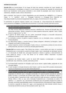 APOL HISTÓRIA DA EDUCAÇÃO NOTA 100 - História da Educação I