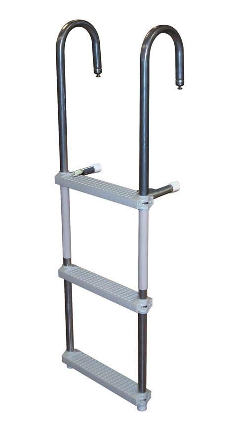 pontoon steps 3 step aluminum pontoon ladders 3 step side mount pontoon