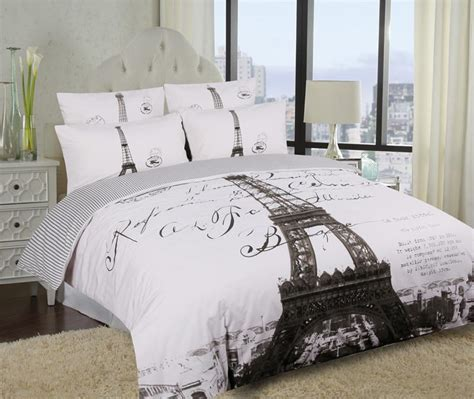 eiffel tower bedroom set single double queen king eiffel tower paris quilt duvet
