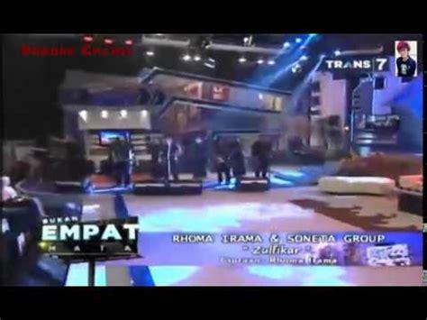 youtube film rhoma irama zulfikar rhoma irama soneta group live zulfikar youtube