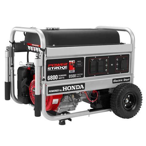 portable generator powerstroke generators 6 800 watt