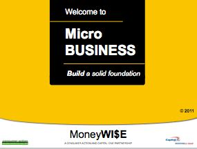 tutorial powerpoint english consumer action micro business basics powerpoint