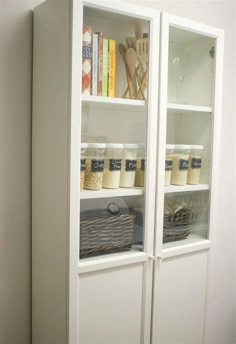 ikea bookshelf closet hack ikea billy bookcase pantry hack hometalk