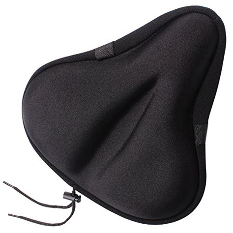 comfortable seat covers for bikes yougai exercise bike seat most comfortable gel bicycle