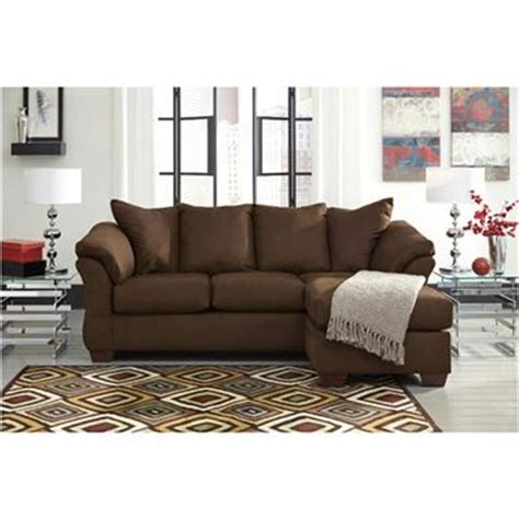 7500418 ashley furniture darcy cafe living room sofa chaise