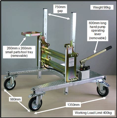 boat engine trolley connor innovations marine trolleys and manual handling