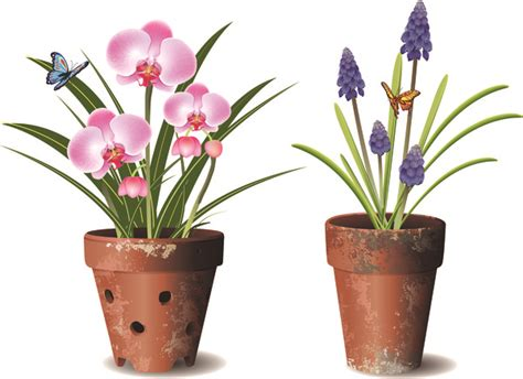 images of 6 flowers in pots flower pot free vector 24 978 free vector for commercial use format ai eps