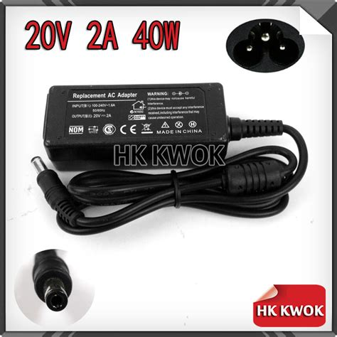 Adaptor Charger Lenovo Netbook 20v 2a ᗑ2024 5pcs 20v 2a 5 5 2 5mm ac ac adapter laptop charger