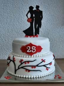 25th wedding anniversary cake cakecentral com