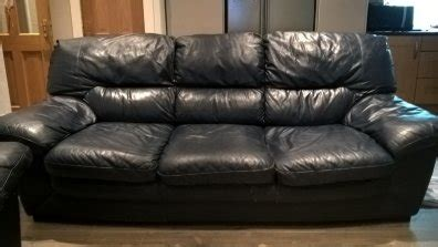 navy sofas sale navy leather sofa for sale in lucan dublin from gimpy