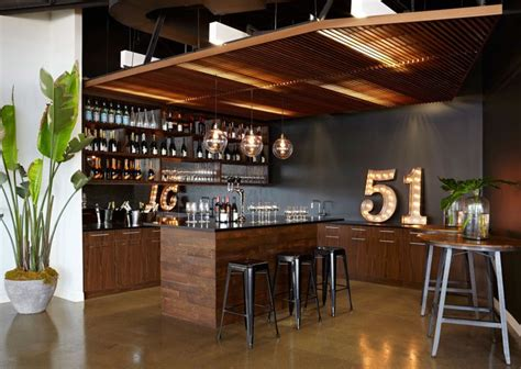 Office Bar | tour 1stdibs stylish new office craft beer offices and