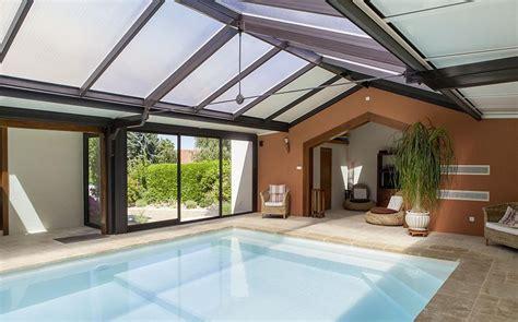 foto veranda v 233 randa abri piscine toiture plate aluminium espace