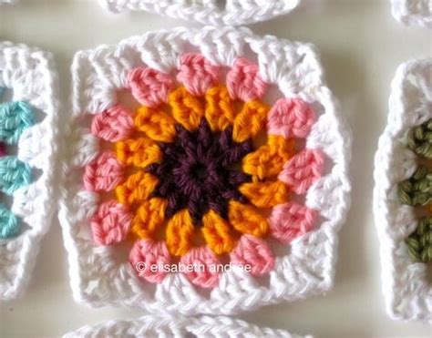 crochet pattern black eyed susan how to crochet 14 flower crochet granny squares ebook