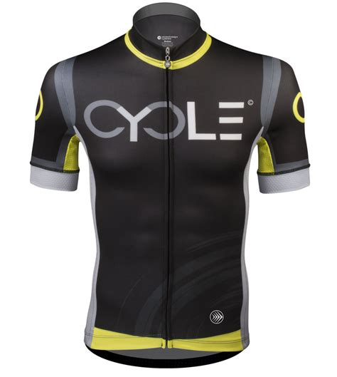 mens hi vis cycling atd men s premiere racing cycle jersey high visibility