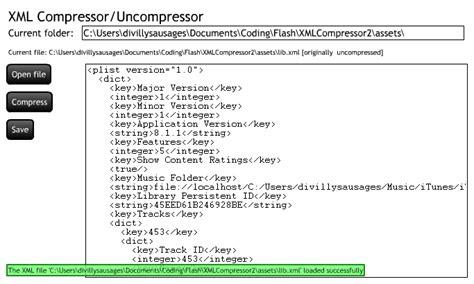 layout modification xml location xml compressor uncompressor tool damian connolly