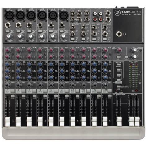 Mixer Audio Mackie mackie 1402 vlz3 compact mixer