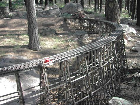 G Scale Garden Railway Layouts Less Model Choice G Scale Trestle Plans