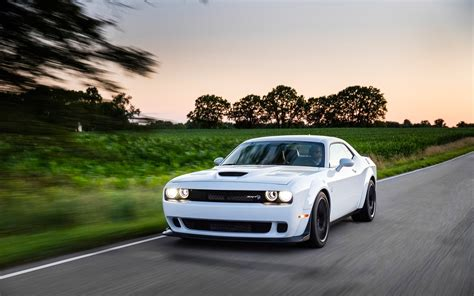 widebody hellcat white 2018 dodge challenger srt hellcat widebody serious wheels
