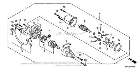 wiring diagram for honda gx270 generator honda gx140