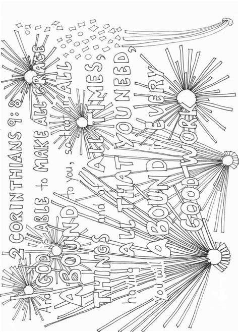 9 11 Coloring Pages Pdf by 2 Corinthians 9 8 Colouring Page And Pdf Study Growing