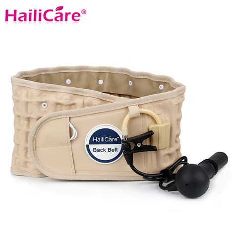 traction for back hailicare body relaxation massager back belt spinal air