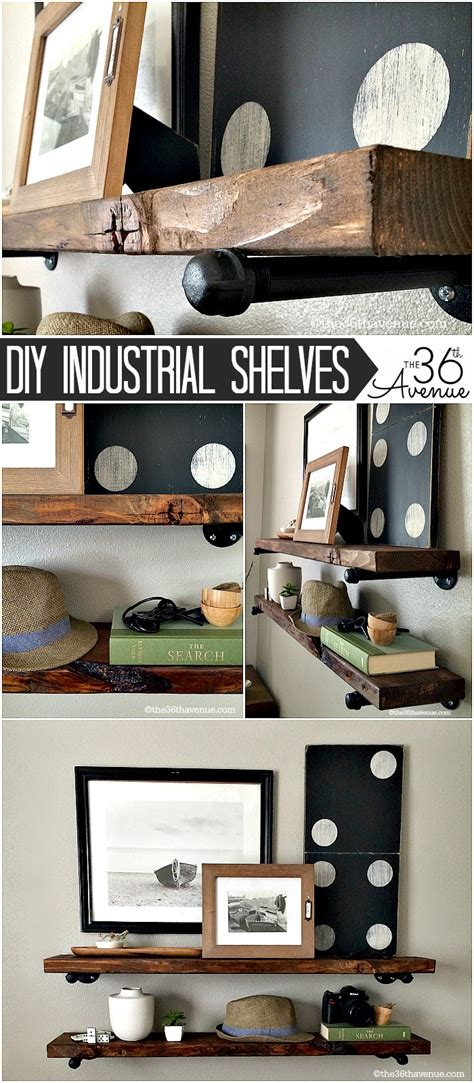 industrial diy projects diy project ladder makeover the 36th avenue