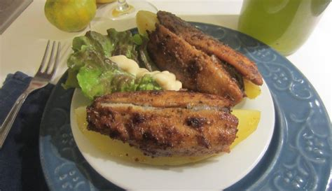 cucinare le aringhe barchette di patate con aringhe fritte