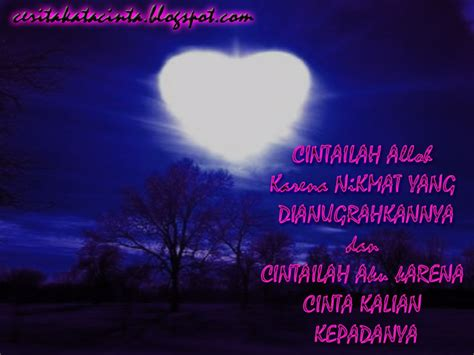 kata kata bijak islami tentang kehidupan cinta