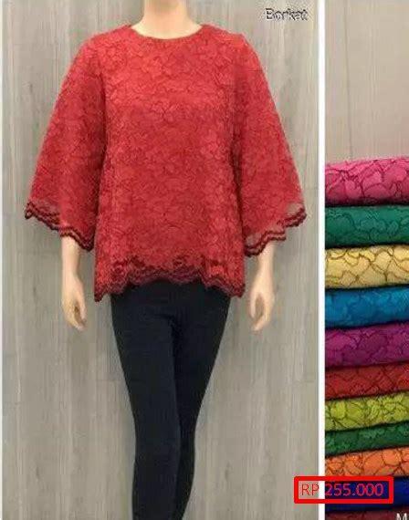 Baju Atasan Brokat 12 model baju brokat atasan yang sedang ngehits fashion