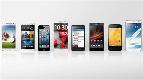 the best smartphone 2013 smartphone comparison guide early 2013