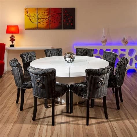 square dining room table for 8 dining room top modern dining room table for 8