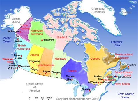 map of canada with major cities map of canada with cities and towns www pixshark