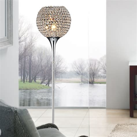 crystal ball floor l modern luxury ringent crystal ball living room floor ls