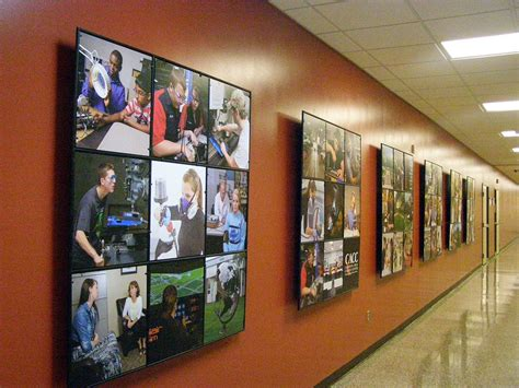 wall displays calhoun career center wall display abstracta