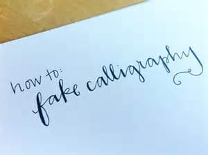 diy calligraphy roundup crafty pie press