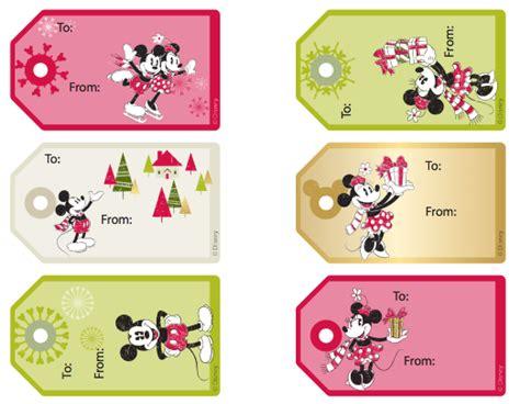 printable christmas tags mickey mouse free disney christmas tags christmas pinterest