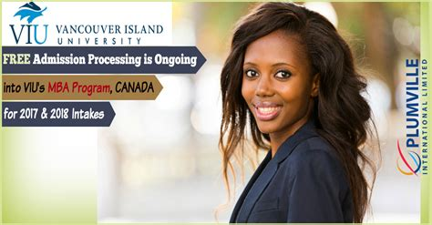 Viu Mba Course by Mba In Canada Free Admission Processing 4 Nigerians Into Viu