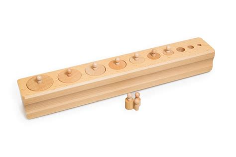 montessori knobbed cylinders