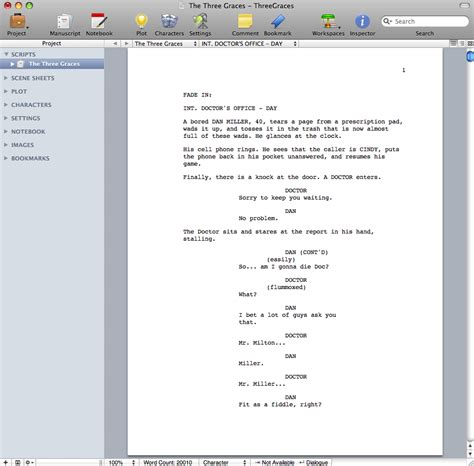 download free screenwriting template for openoffice